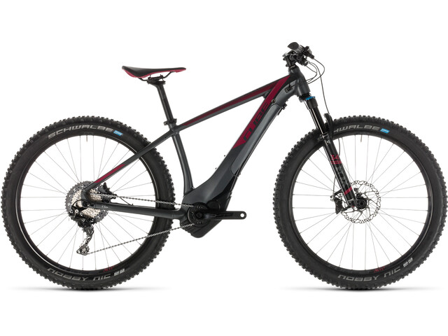 Cube Access Hybrid SLT 500 KIOX E-mountainbike Damer grå (2019) | City-cykler
